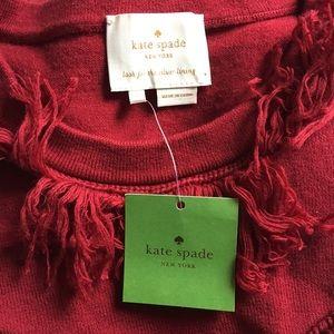 kate spade Dresses - ❤️ kate spade • sweater fringe dress